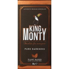 King Monty Dark Chocolate Bar - 90g