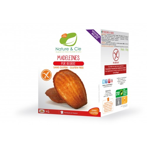 Nature & cie - Madeleines Pur Beurre 150g