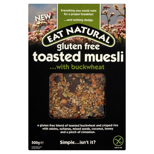 Eat Natural Tosted Buck Wheat Muesli