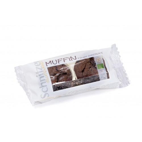 Schnitzer - Bio Muffin Dark Chocolate - 2 x 70g