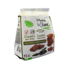 Céliane crackers aux olives bio 60g