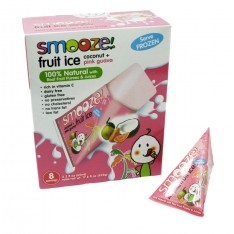 Smooze! - sorbets coco et goyave rose 5 X 65 ml