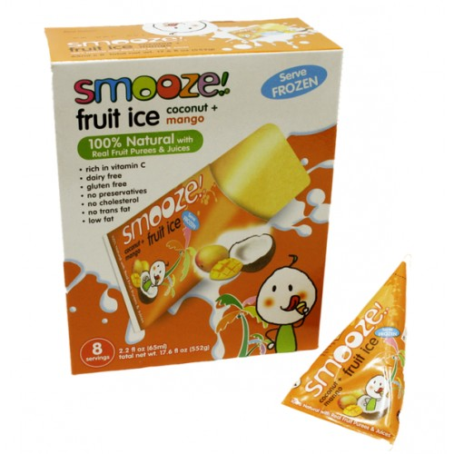 Smooze! - sorbets coco et mangue 5 x 65 ml