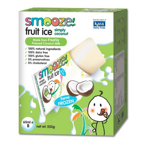 Smooze! - sorbets 100% lait de coco 5 x 65 ml