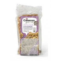 Consenza crackers au fromage-citrouille 250g