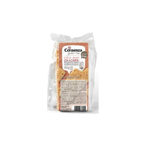 Consenza crackers aux graines 250g