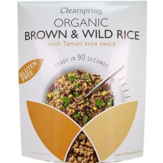 Clearspring - Brown & Wild Rice (250 gr)