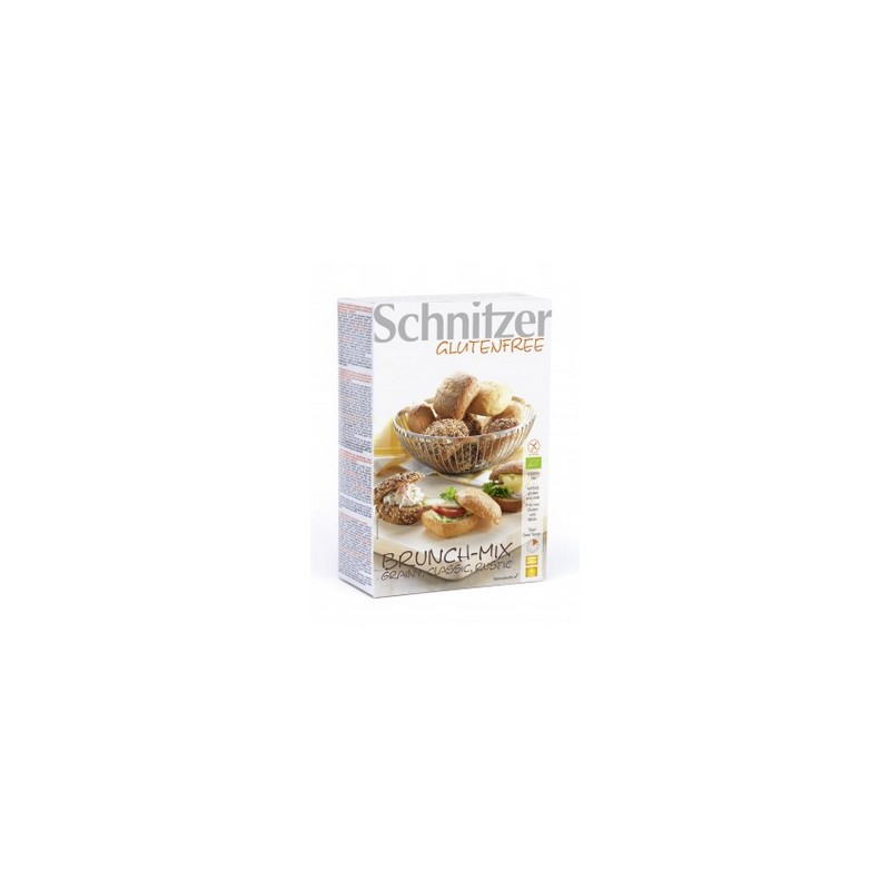Schnitzer - Bio Brunch Mix - Grainy, Classic, Rustico - pains 'Brunch Mix' 2x100g