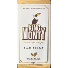 King Monty Classic Chocolate - 90g