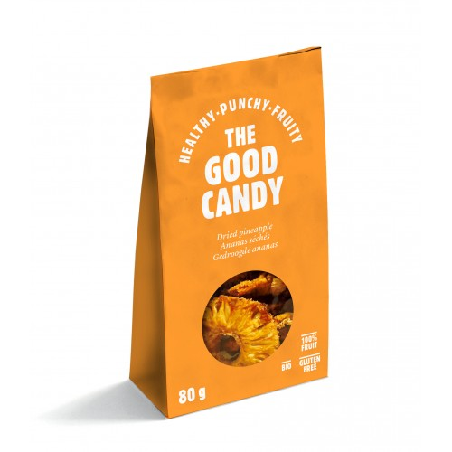 The Good Candy gedroogde ananas 80g