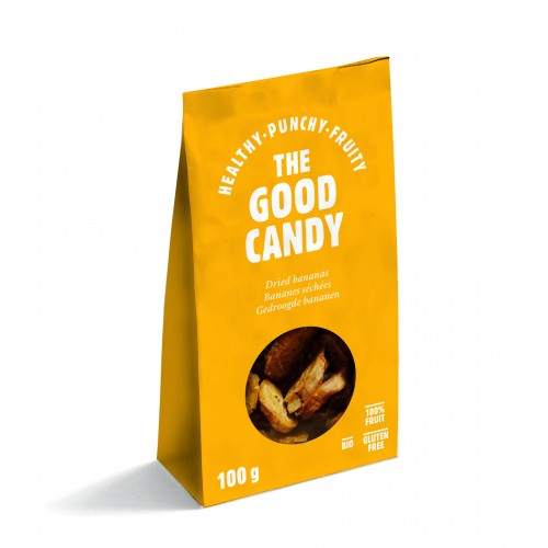 The Good Candy gedroogde bananen 100g