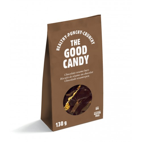 The Good Candy chocolade sesamrepen 130g