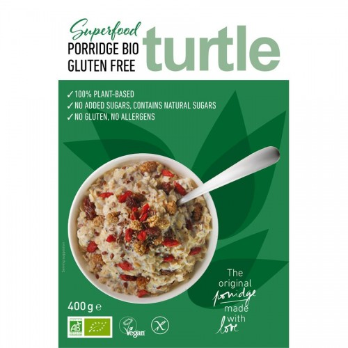 Turtle Porridge Bio Superfood  Gluten free - 400g
