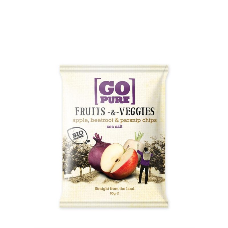 Go Pure Fruits&Veggies zout 90g