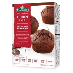 Orgran mix pour muffins chocolate 375g
