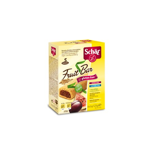Pack van 6 x Schär Fruit bar 125g