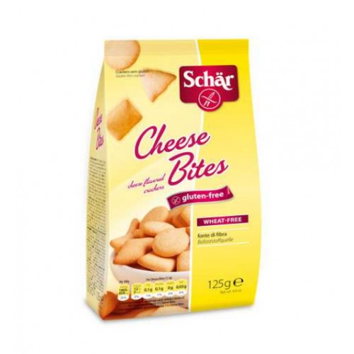 Pack van 5 x Schär cheese bites 125g