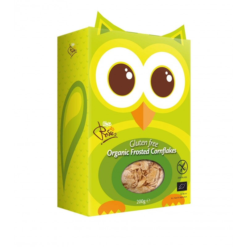 PACK de 6 pièces x Rosies Frosted Corneflakes bio 200g