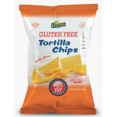 PACK de 5 pièces x Sam Mills tortilla chips Nacho Cheese 125g