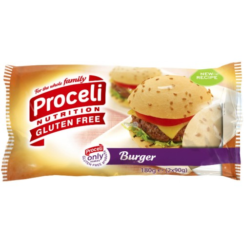 Proceli pains pour hamburger (2pcs) 180g RTE