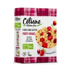 Céliane flakes forme fruits rouges 300g