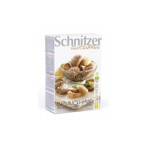 Schnitzer - PACK de 6 - Bio Brunch Mix - Grainy, Classic, Rustico - pains 'Brunch Mix' 2x100g