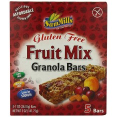 Sam Mills granola bars fruit mix 25g-5pcs