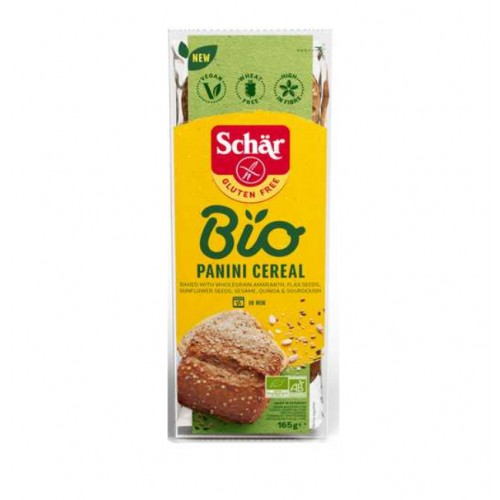 Schär bio panini cereal 165g