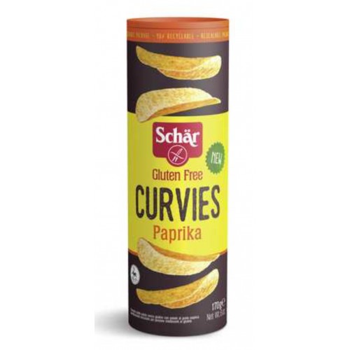 Schär curvies paprika 170g
