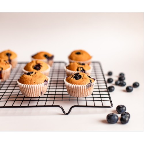 Muffins myrtilles-coco