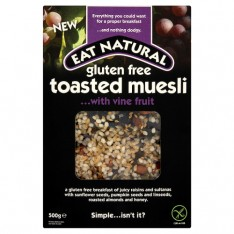 Eat Natural Muesli gluten free Vine fruit