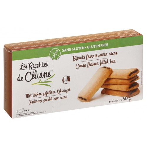 Céliane biscuits fourrés cacao 150g
