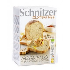 Schnitzer Bio Granello + Sunflower Seeds - pains aux graines de tournesol 2x250g