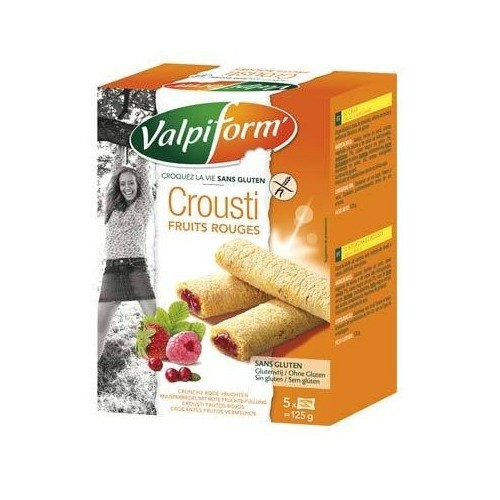 Valpi Form crousti fruits rouges (5pcs) 125g