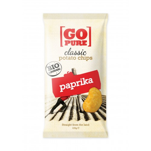 Go Pure Chips Paprika 125g