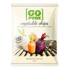 Go Pure - Vegetable Chips 90g