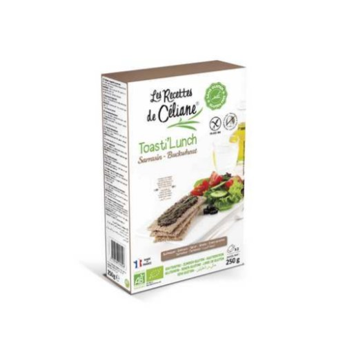 Céliane toasti'lunch sarrasin bio 250g