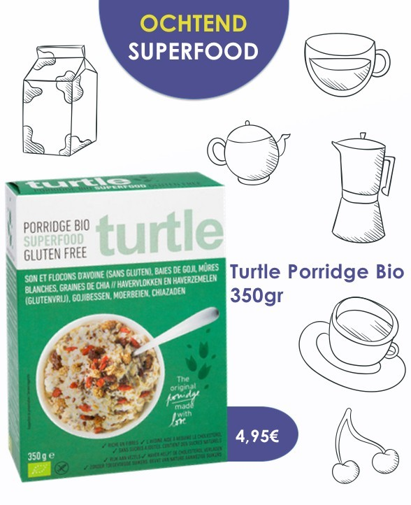 Porridge superfood turtle